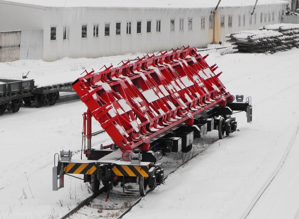 Механизированная платформа грузоподъемностью 30 тонн