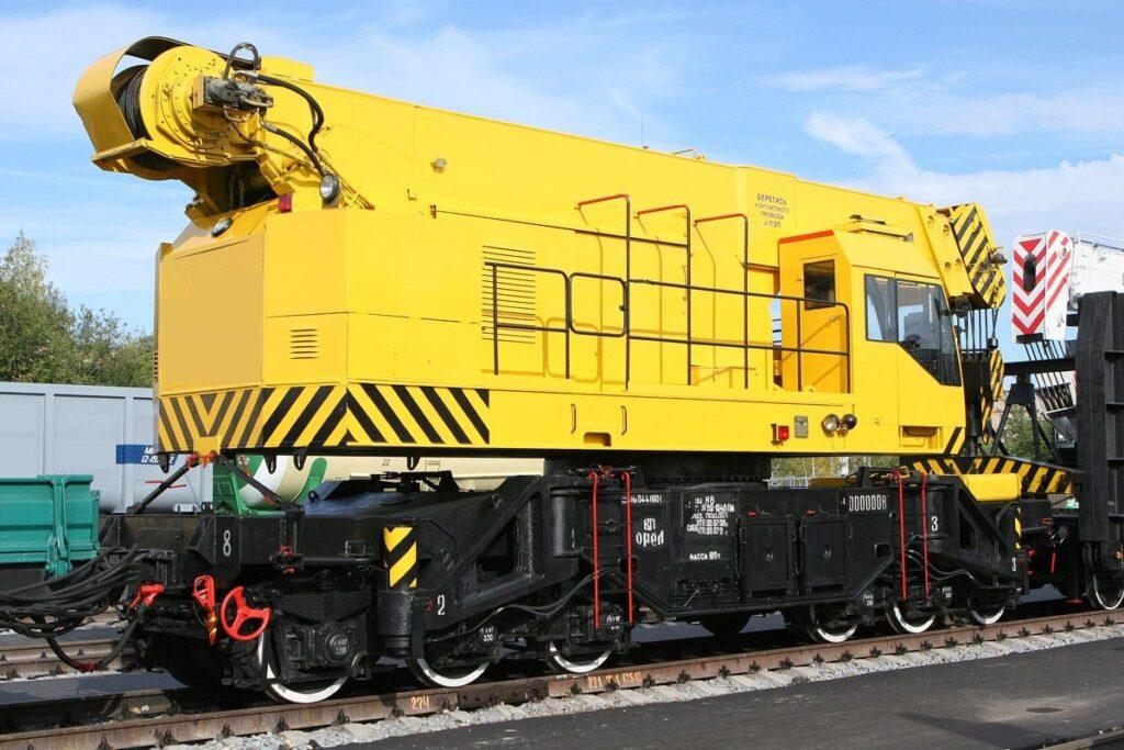 кран железнодорожный Г/П 80 т.
