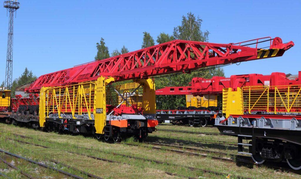 Укладочный кран грузоподъёмностью 21,5 тонн